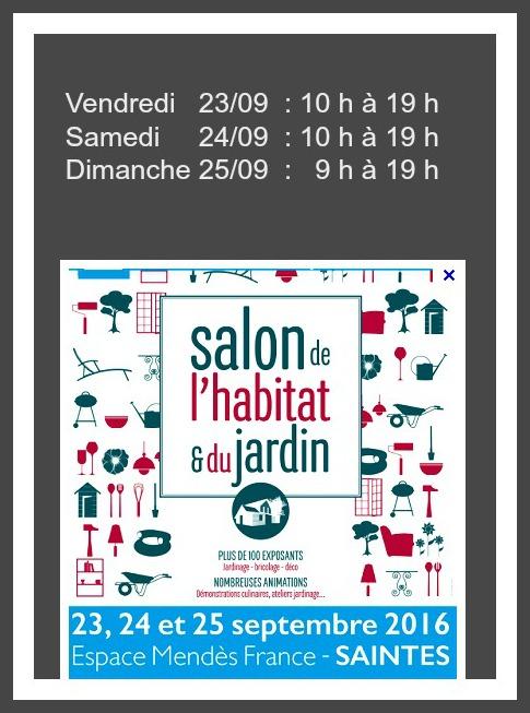 Salon de l habitat saintes septembre 2016 for Salon paris septembre 2016